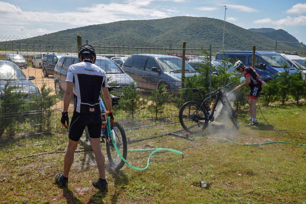 limpieza de bicis